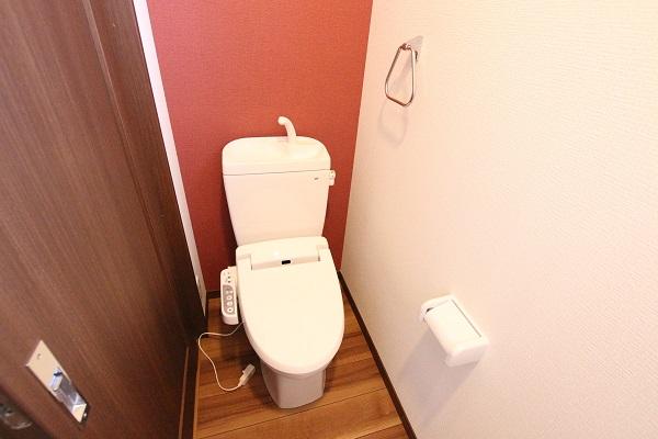 1階トイレの様子です